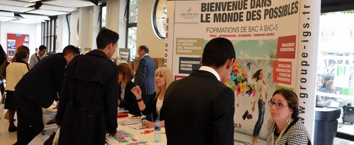 Au sein du CFA-IGS, l'accompagnement dans votre recherche d'entreprise est une promesse que nous tenons !