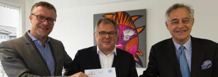 Le 19 novembre, un partenariat entre le Groupe IGS, le Réseau C&D et l'Apec a été signé