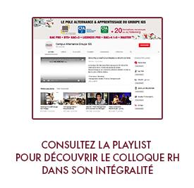 playliste colloque RH